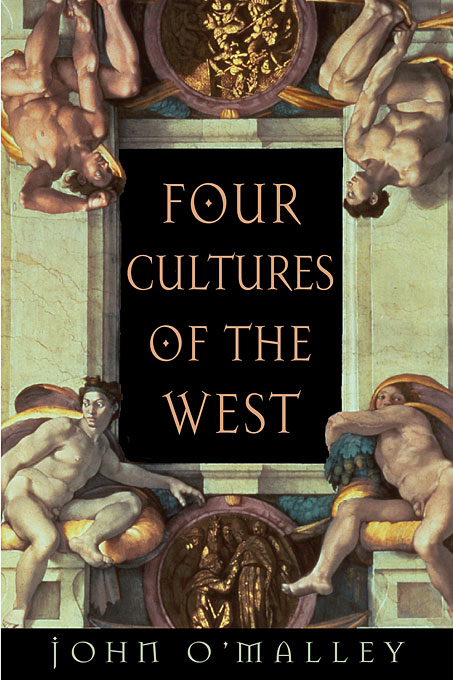 Cover: Four Cultures of the West, from Harvard University Press