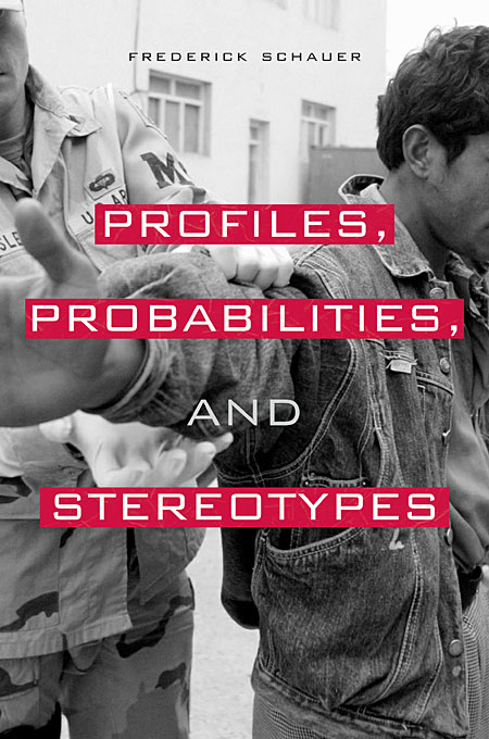 Cover: Profiles, Probabilities, and Stereotypes, from Harvard University Press