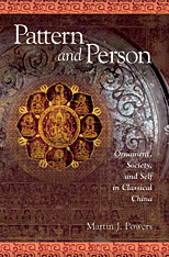 Cover: Pattern and Person: Ornament, Society, and Self in Classical China