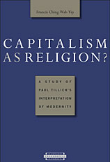 Cover: Capitalism as Religion? A Study of Paul Tillich's Interpretation of Modernity in PAPERBACK
