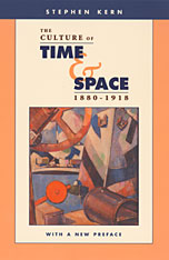 Cover: The Culture of Time and Space, 1880–1918: With a New Preface