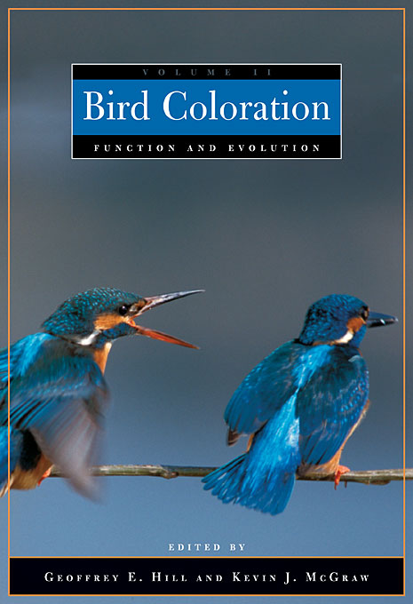 Cover: Bird Coloration, Volume 2: Function and Evolution, from Harvard University Press