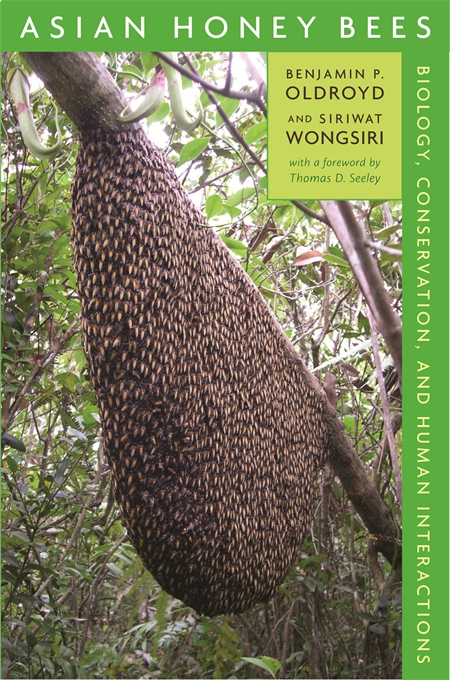 Cover: Asian Honey Bees: Biology, Conservation, and Human Interactions, from Harvard University Press