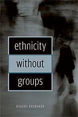Cover: Ethnicity without Groups