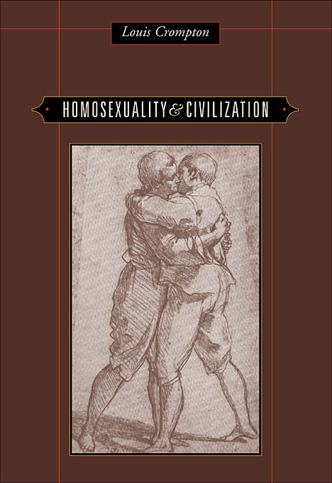Cover: Homosexuality and Civilization, from Harvard University Press