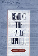 Cover: Reading the Early Republic in PAPERBACK