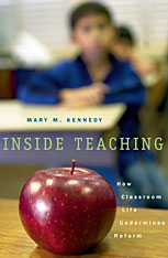 Cover: Inside Teaching in PAPERBACK