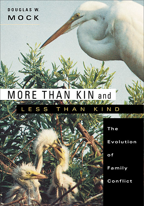 Cover: More than Kin and Less than Kind: The Evolution of Family Conflict, from Harvard University Press