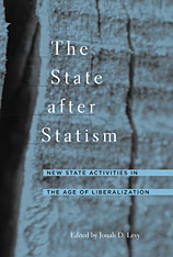 Cover: The State after Statism in PAPERBACK