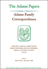Cover: Adams Family Correspondence, Volume 8: March 1787 – December 1789