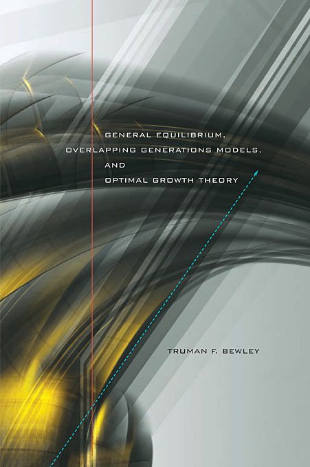 Cover: General Equilibrium, Overlapping Generations Models, and Optimal Growth Theory, from Harvard University Press
