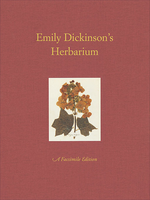 Cover: Emily Dickinson's Herbarium: A Facsimile Edition, from Harvard University Press