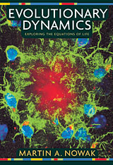 Cover: Evolutionary Dynamics in HARDCOVER