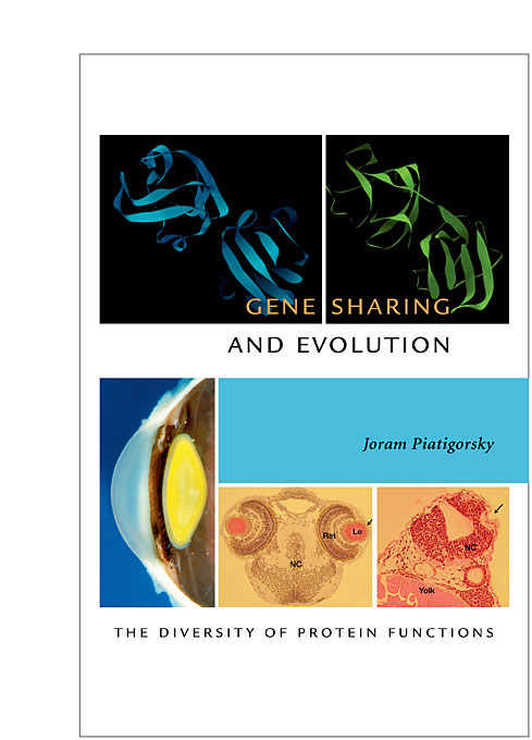 Cover: Gene Sharing and Evolution: The Diversity of Protein Functions, from Harvard University Press