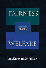 Cover: Fairness versus Welfare