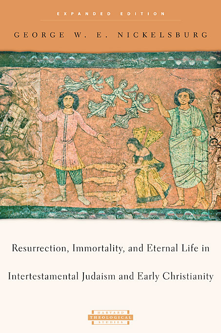 Cover: Resurrection, Immortality, and Eternal Life in Intertestamental Judaism and Early Christianity: Expanded Edition, from Harvard University Press