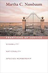 Cover: Frontiers of Justice: Disability, Nationality, Species Membership
