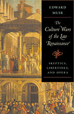 Cover: The Culture Wars of the Late Renaissance in HARDCOVER