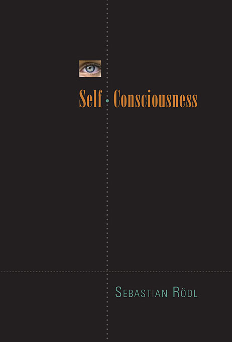 Cover: Self-Consciousness, from Harvard University Press