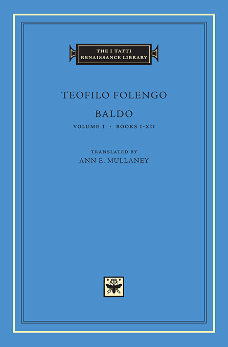 Cover: Baldo, Volume 1: Books I-XII, from Harvard University Press