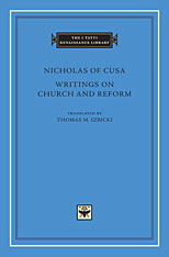 Cover: Writings on Church and Reform in HARDCOVER
