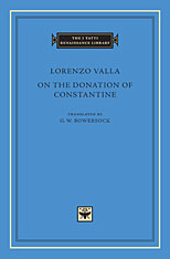 Cover: On the Donation of Constantine in HARDCOVER