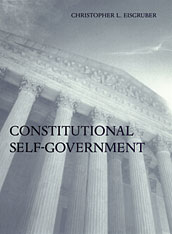 Cover: Constitutional Self-Government