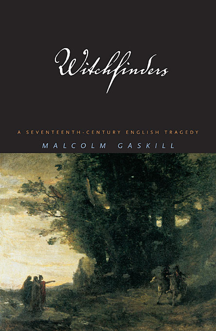 Cover: Witchfinders: A Seventeenth-Century English Tragedy, from Harvard University Press