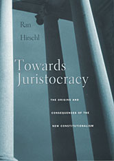 Cover: Towards Juristocracy in PAPERBACK