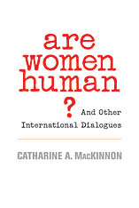 Cover: Are Women Human? in PAPERBACK