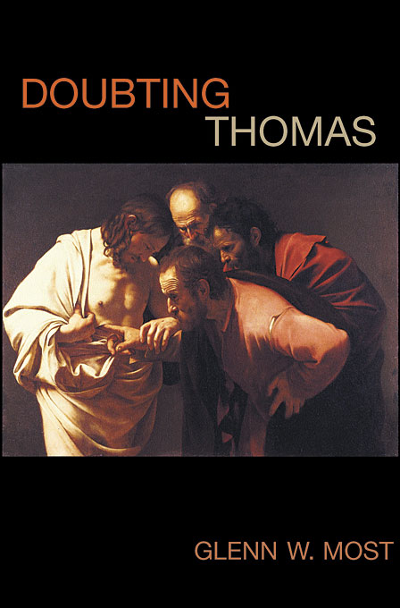 Cover: Doubting Thomas, from Harvard University Press