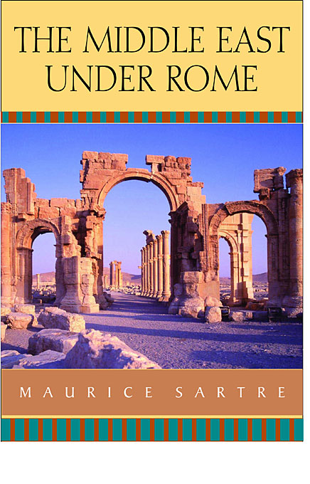 Cover: The Middle East under Rome, from Harvard University Press