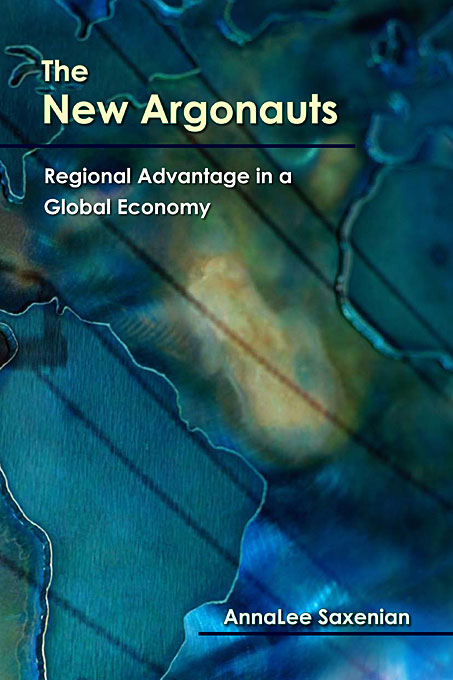 Cover: The New Argonauts: Regional Advantage in a Global Economy, from Harvard University Press