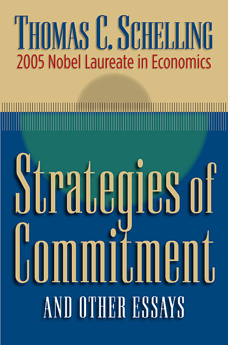Cover: Strategies of Commitment and Other Essays, from Harvard University Press