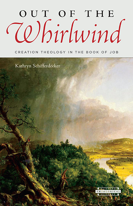 Cover: Out of the Whirlwind: Creation Theology in the Book of Job, from Harvard University Press