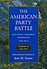 Cover: The American Party Battle: Election Campaign Pamphlets, 1828-1876, Volume 2: 1854–1876