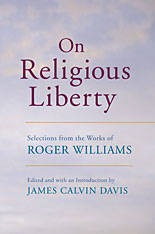 Cover: On Religious Liberty: Selections from the Works of Roger Williams