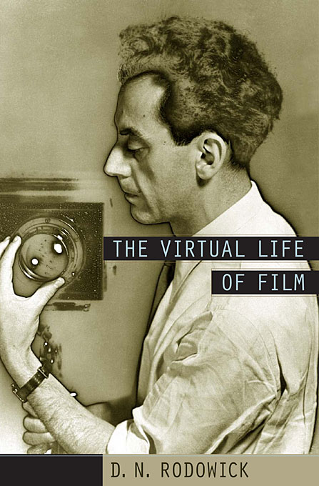 Cover: The Virtual Life of Film, from Harvard University Press