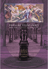 Cover: Popular Front Paris and the Poetics of Culture