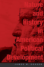 Cover: Nature and History in American Political Development in PAPERBACK