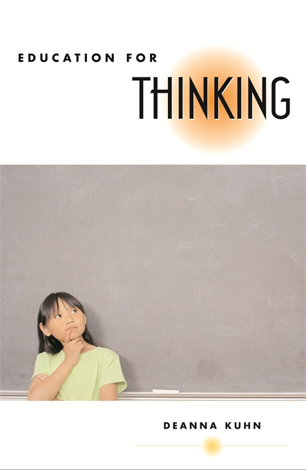 Cover: Education for Thinking, from Harvard University Press