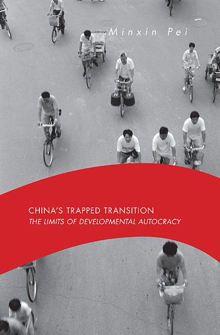 Cover: China's Trapped Transition: The Limits of Developmental Autocracy, from Harvard University Press