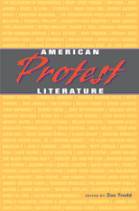 Cover: American Protest Literature in PAPERBACK