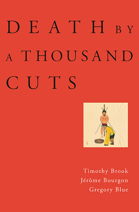 Cover: Death by a Thousand Cuts, from Harvard University Press