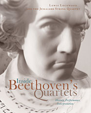 Cover: Inside Beethoven's Quartets: History, Performance, Interpretation