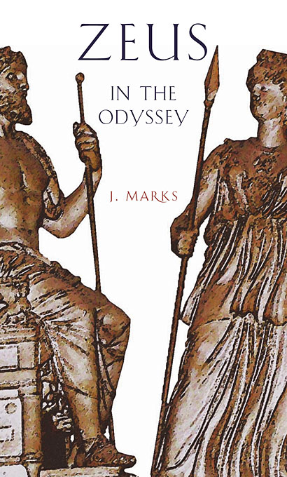 Cover: Zeus in the <i>Odyssey</i>, from Harvard University Press