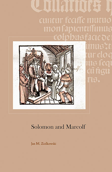 Cover: Solomon and Marcolf, from Harvard University Press