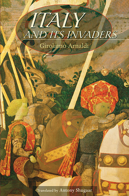 Cover: Italy and Its Invaders, from Harvard University Press