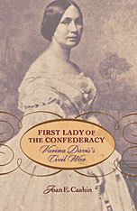 Cover: First Lady of the Confederacy in PAPERBACK
