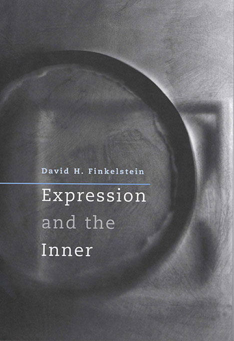 Cover: Expression and the Inner, from Harvard University Press